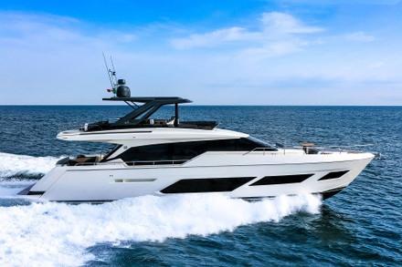 Yacht Ferretti Yachts 720