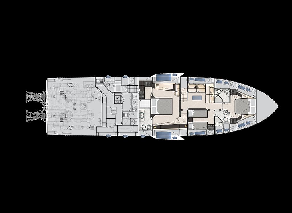 下层甲板 opt
