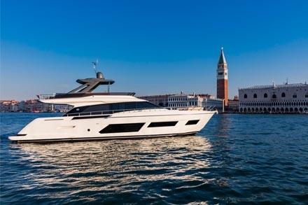 Yacht Ferretti Yachts 670