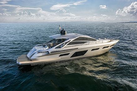 Yacht Pershing 7X