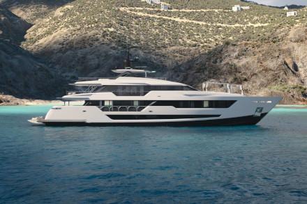 Yacht Custom Line 140' Project